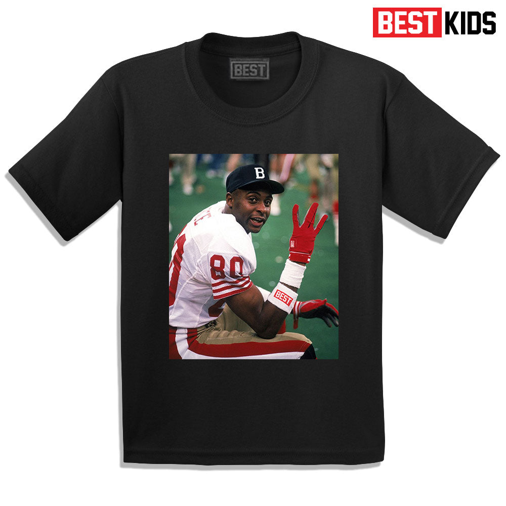 BEST KIDS BEST SIDE 80 TEE BLACK