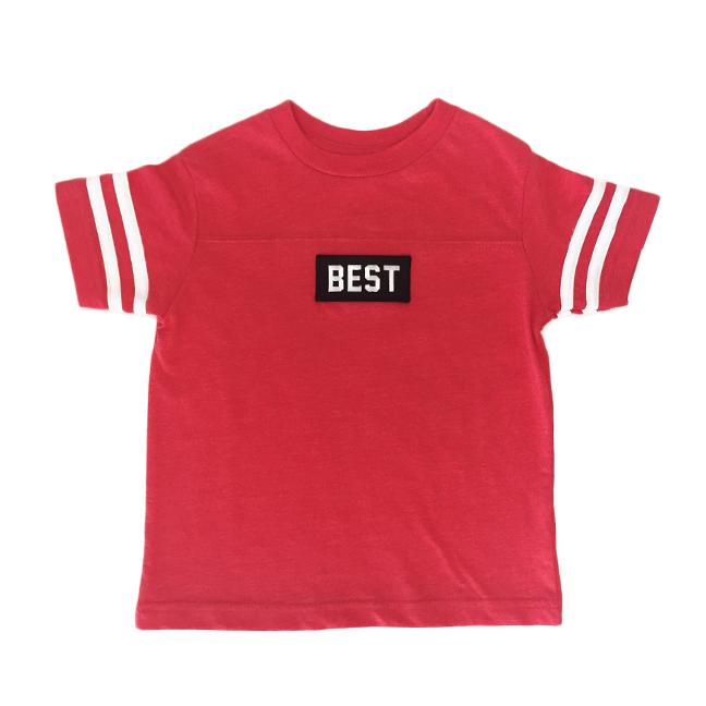 Kids Red Best Tee