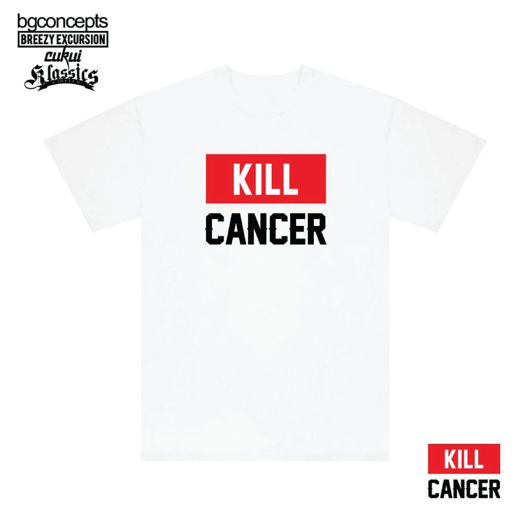 Kill Cancer White Tee