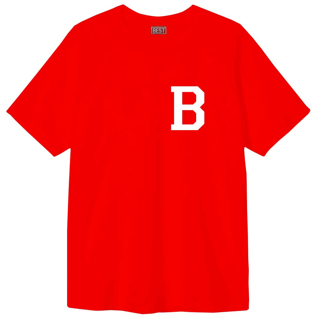 Letterman - B Red Tee