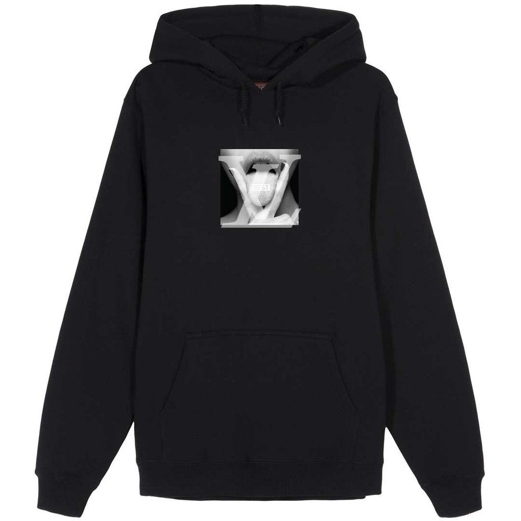 Louis V Licker Black Hoodie