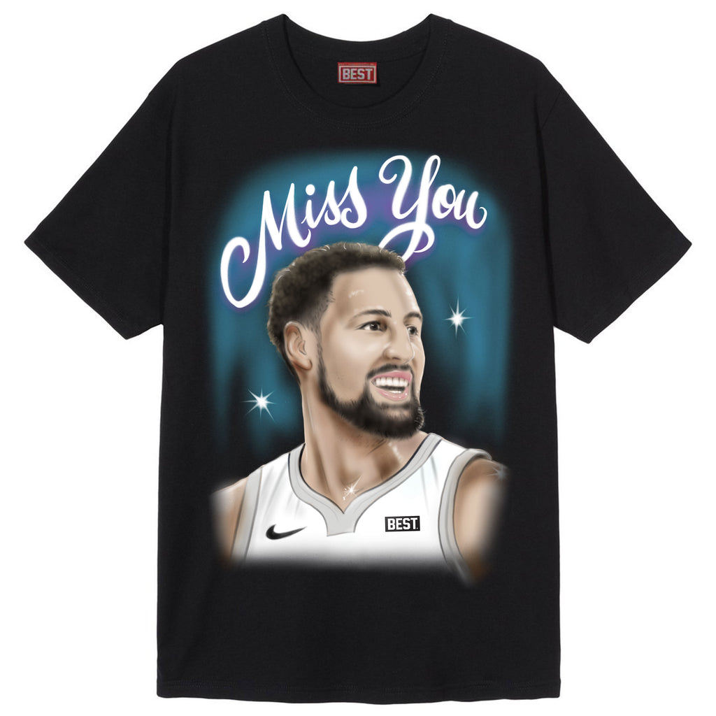Miss You Klay Tee Black