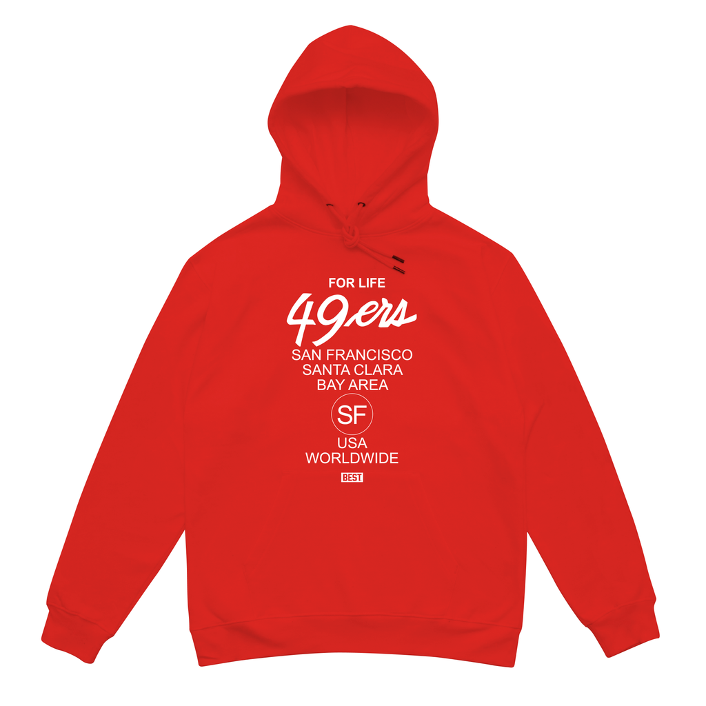 Niner For Life Red Hoodie