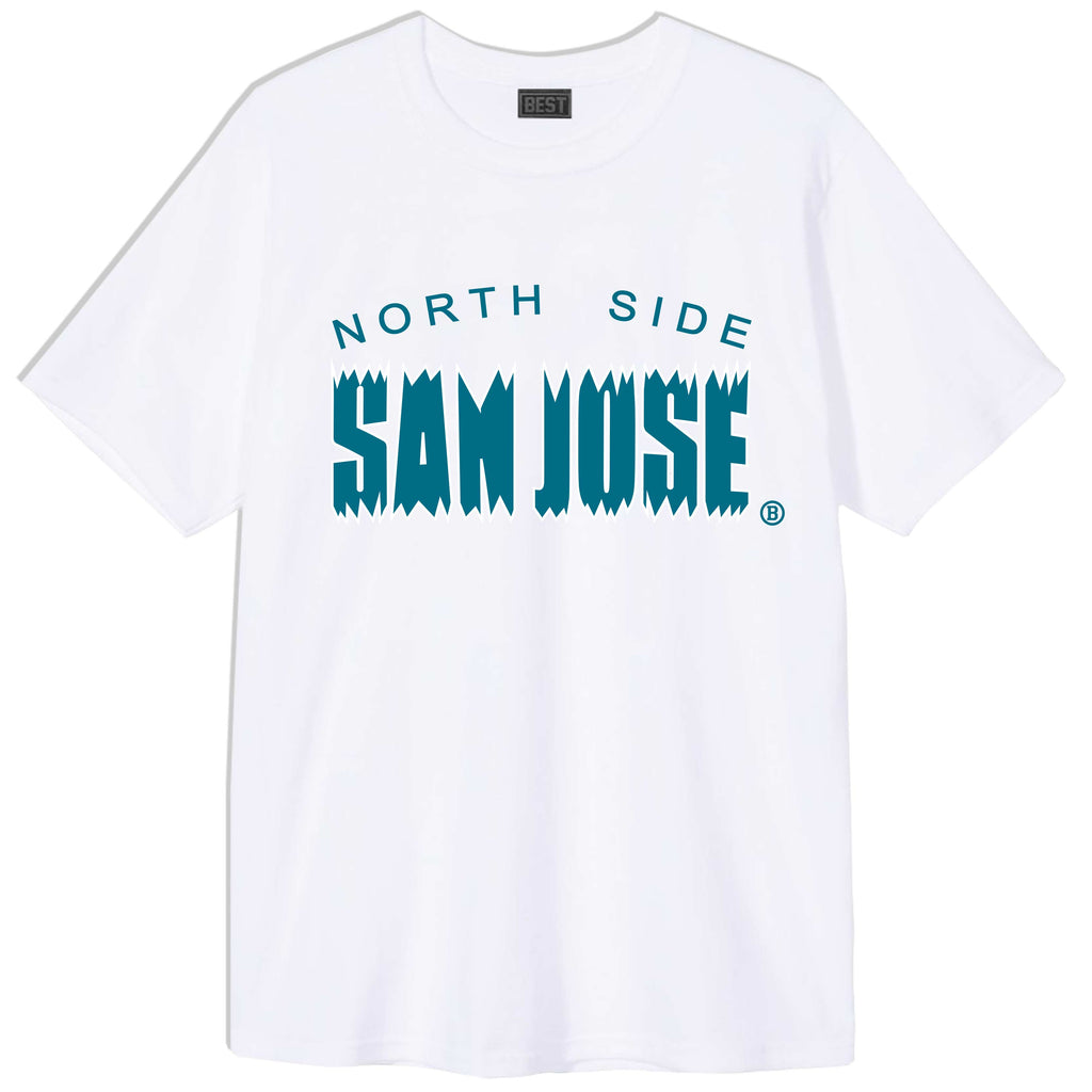 NSSJ CHOMP TEE WHITE