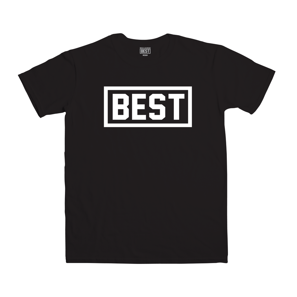 Best Outline Black Tee