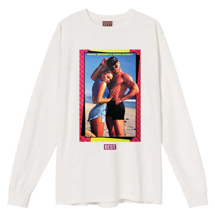 Pam and Shawn Long Sleeve White