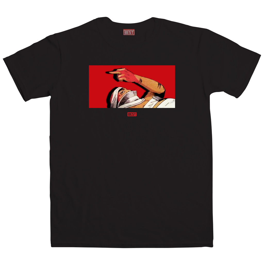Pac Shot Black Tee