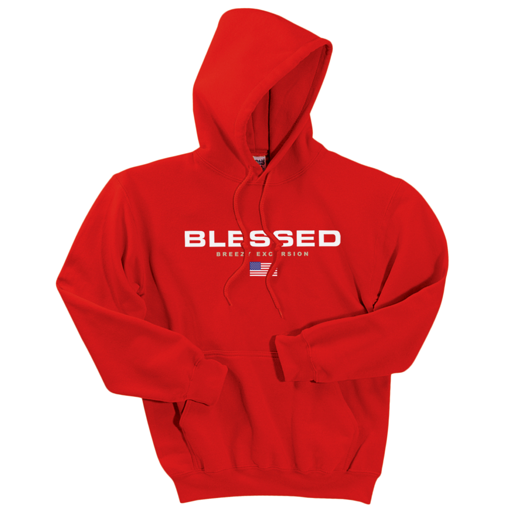 Blessed Sport Red Hoodie