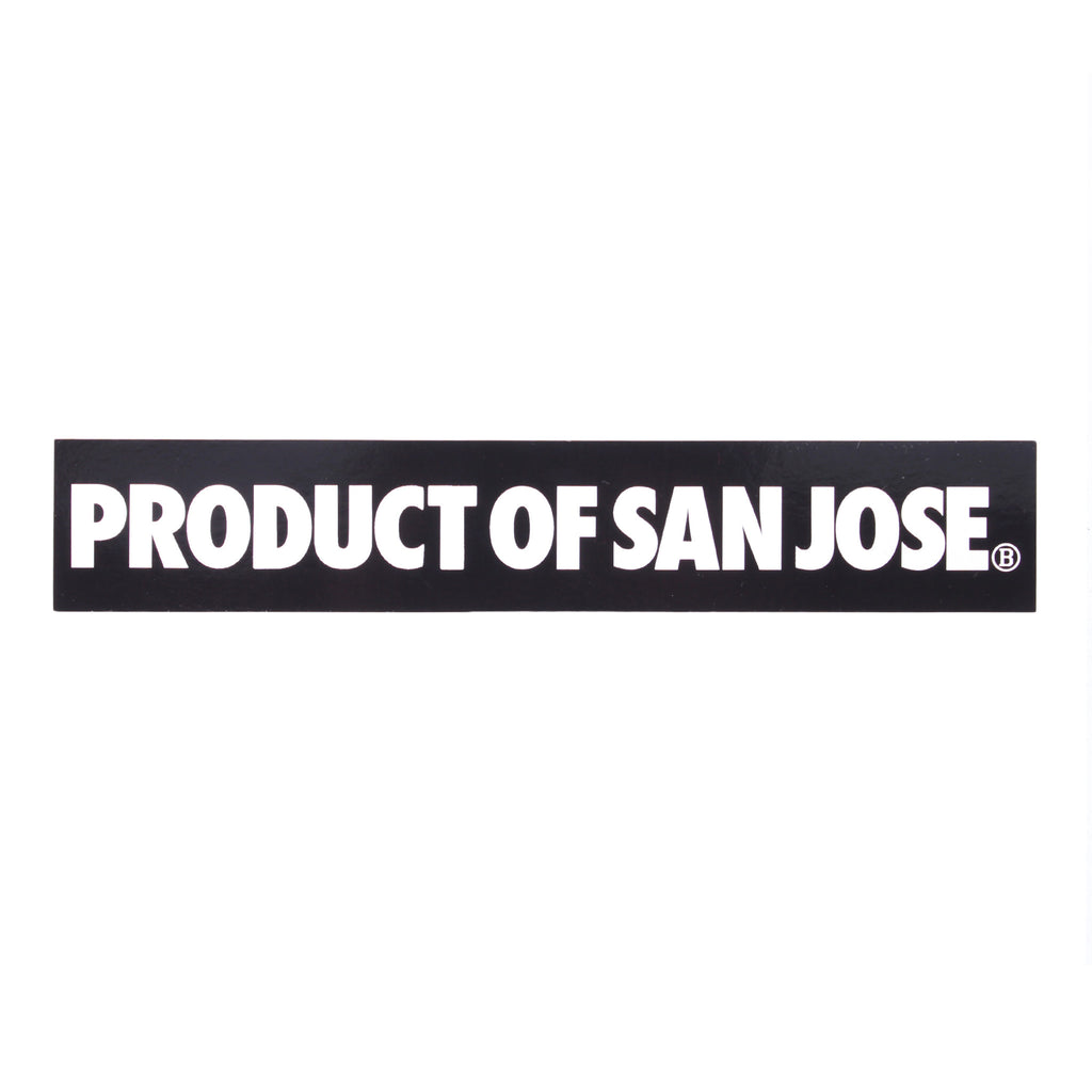 Product of San Jose Sticker