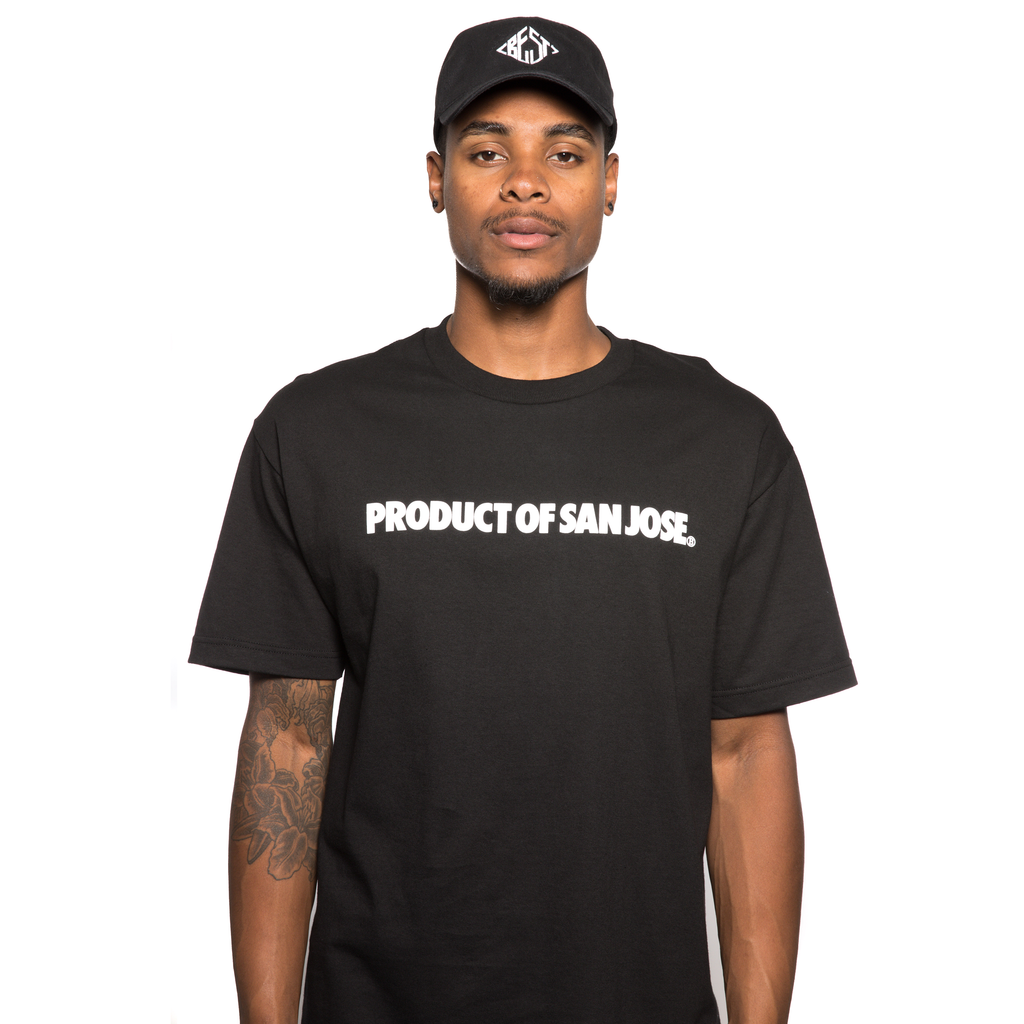 Product of San Jose Black Tee