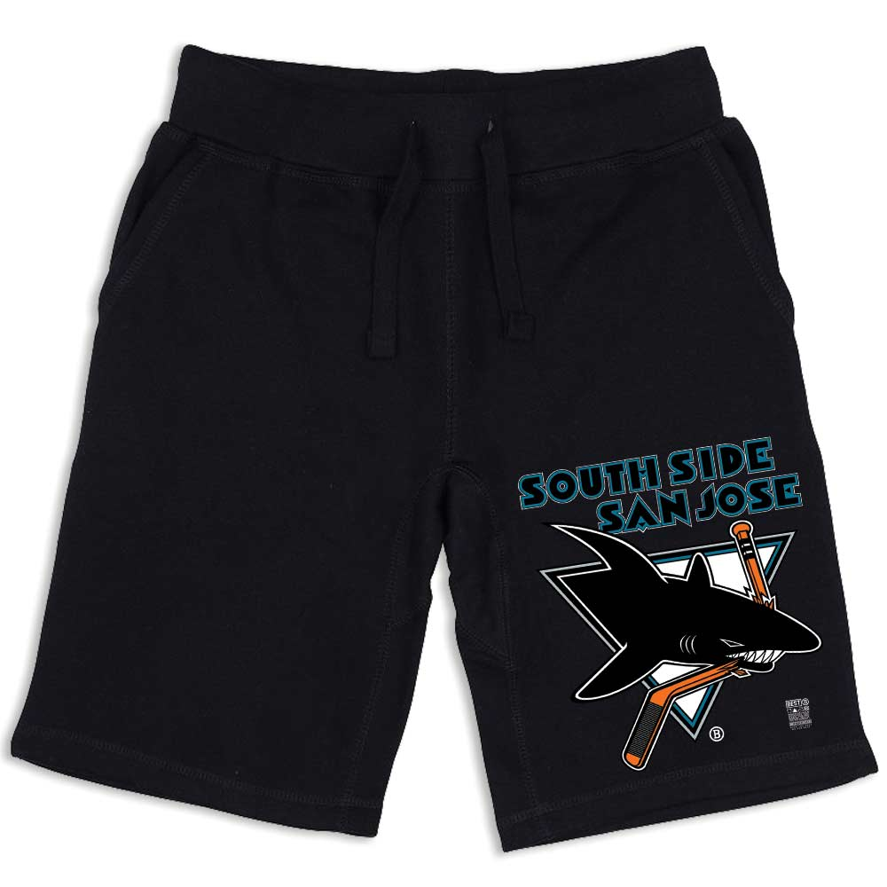 SSSJ SHARKS SHORTS BLACK