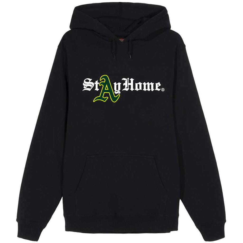Stay Home Oakland Hoodie Black