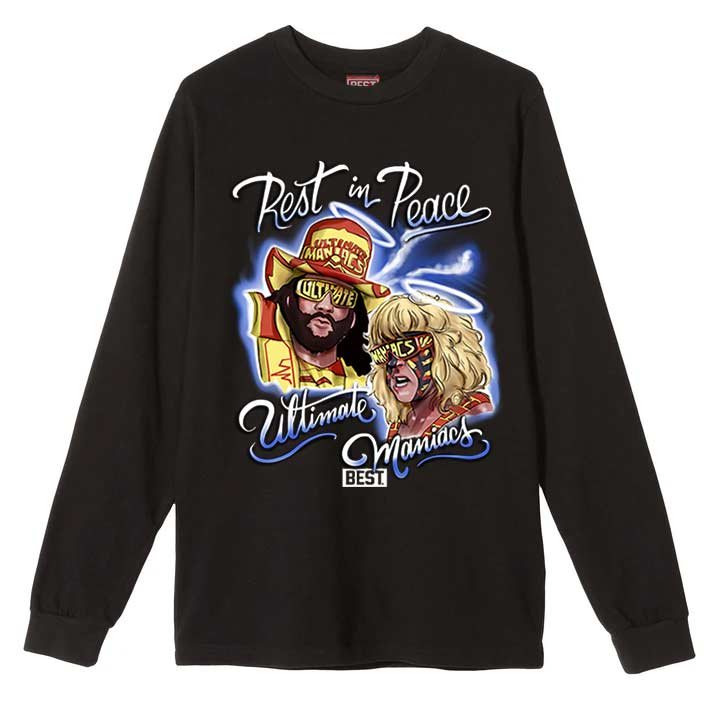 Ultimate Maniacs Long Sleeve Black