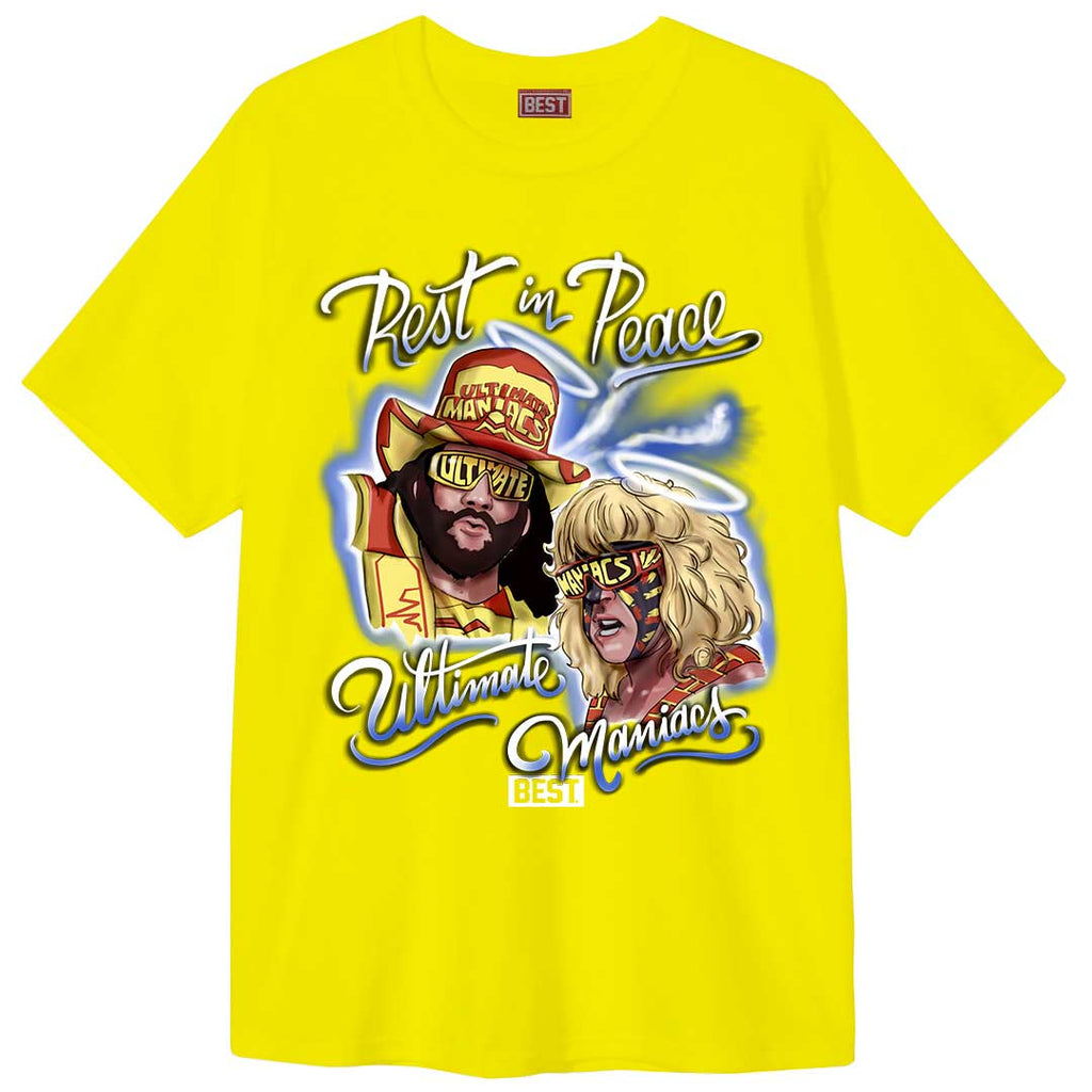 Ultimate Maniacs Tee Yellow