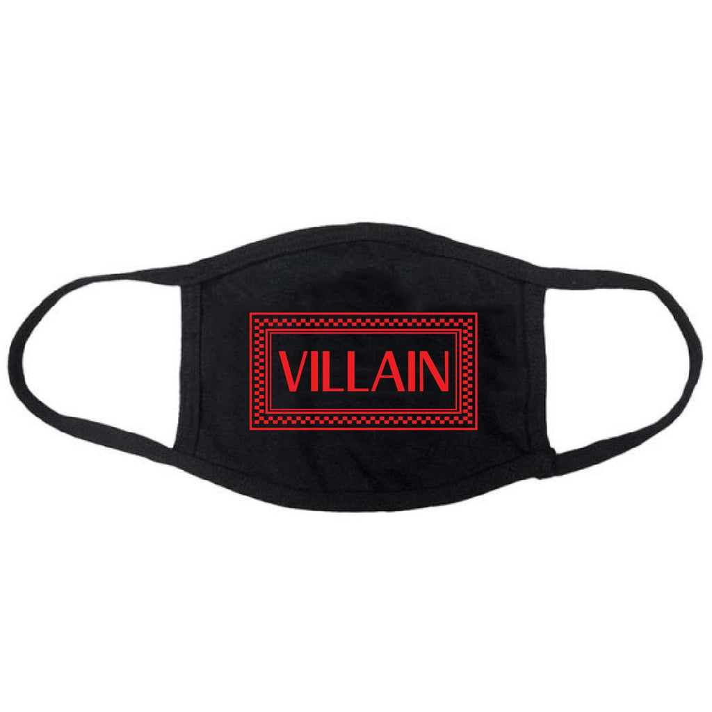Very Saucy Villain Face Mask