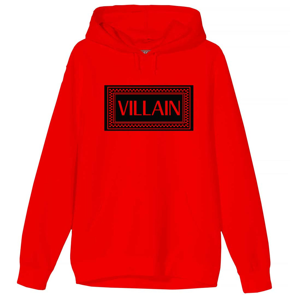 Very Saucy Villain Red Hoodie