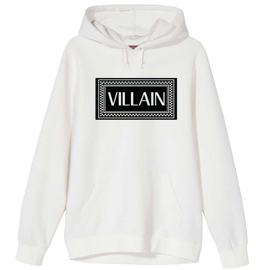 Very Saucy Villain White Hoodie