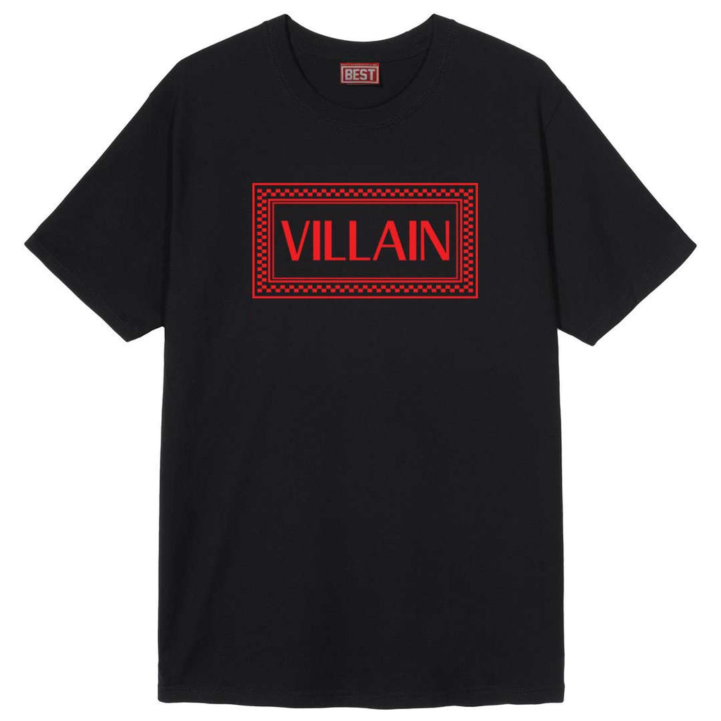 Very Saucy Villain Black Tee