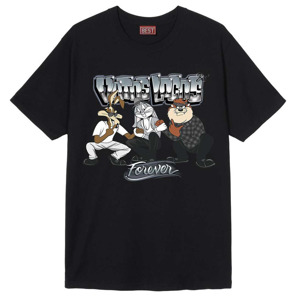 Looney Locos Tee Black