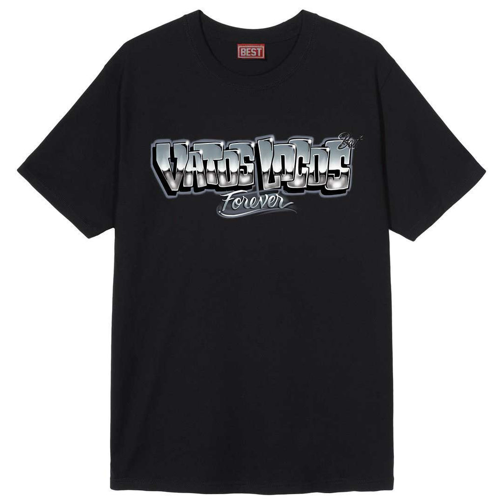 Vatos Locos Airbrush Tee Black