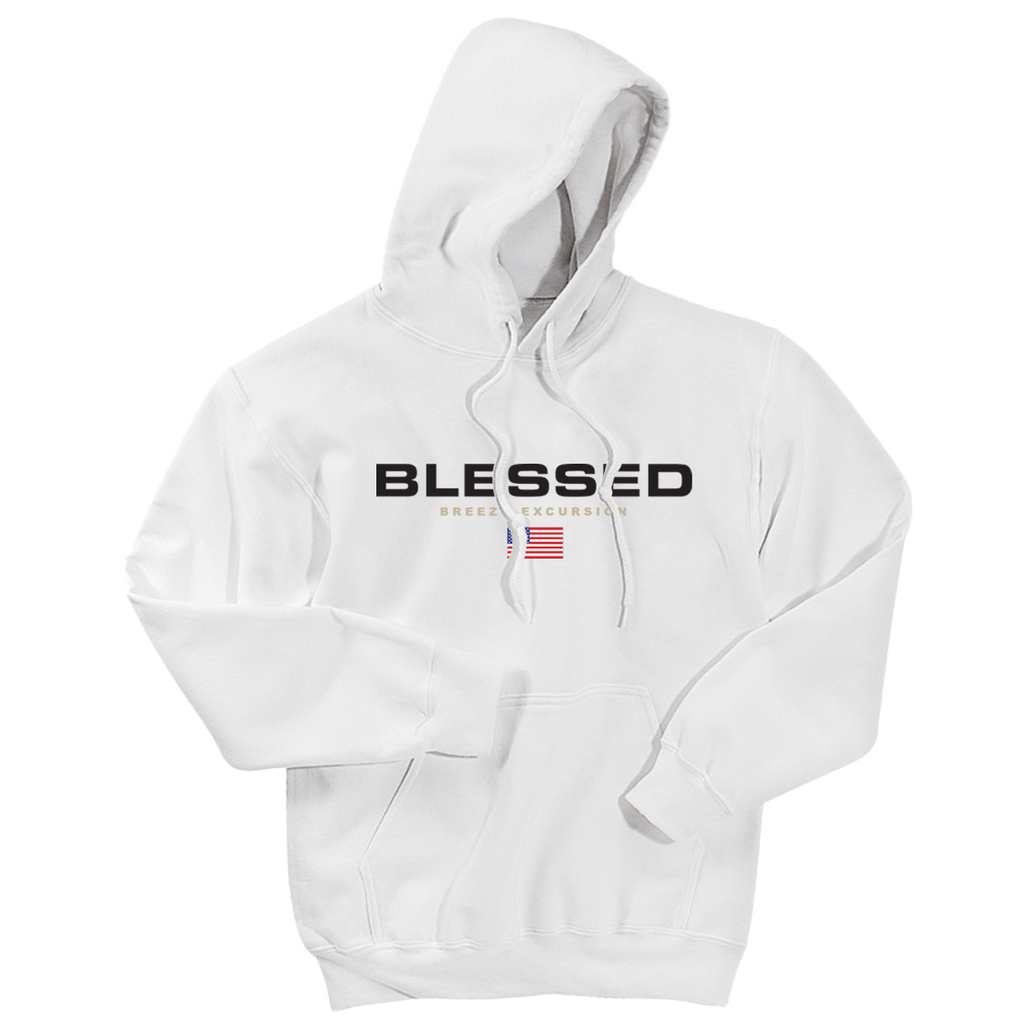 Blessed Sport White Hoodie