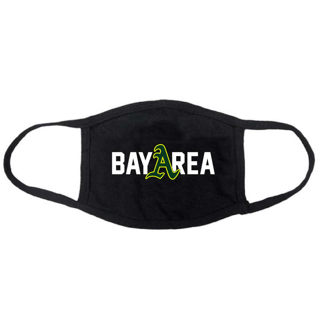 Bay Areas A's Face Mask
