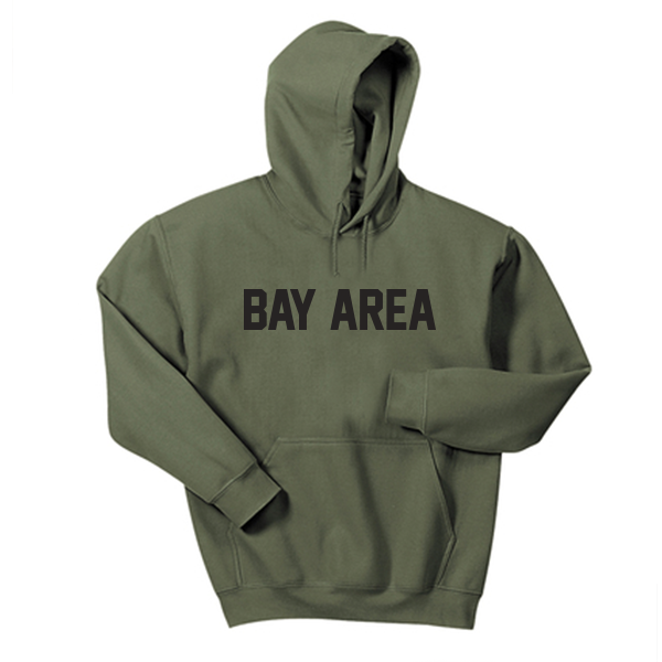 Bay Area Olive Hoodie