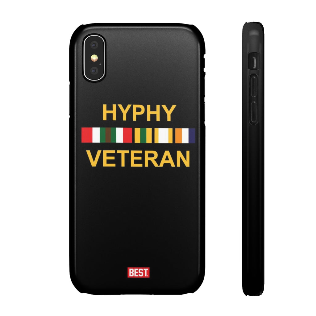 Hyphy Veteran Black iPhone Case
