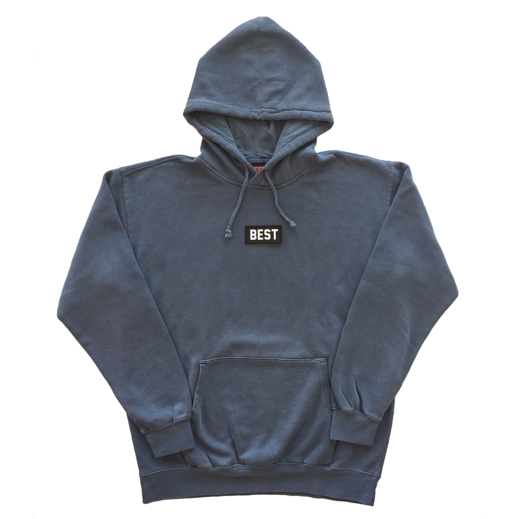 BEST Pigment Dyed Hoodie in Blue