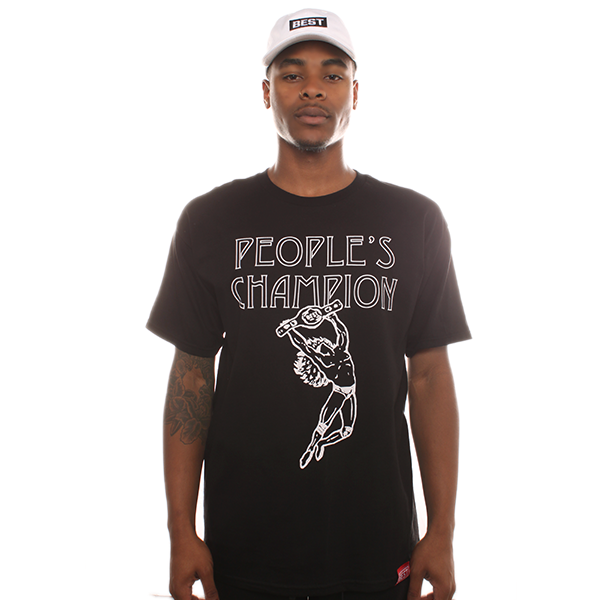 People's Champ Black Tee