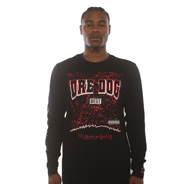 Dre Dog Black Longsleeve