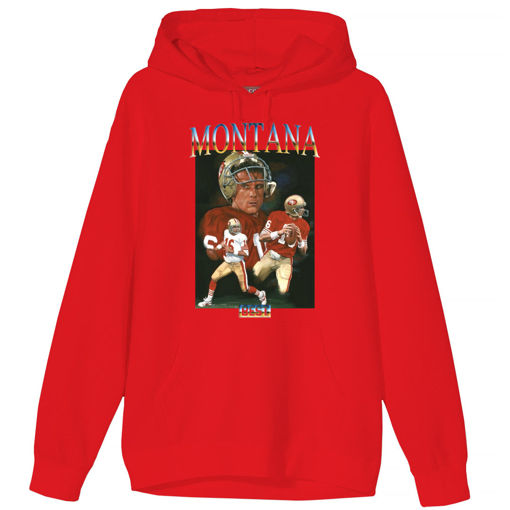 MONTANA THE BEST HOODIE RED