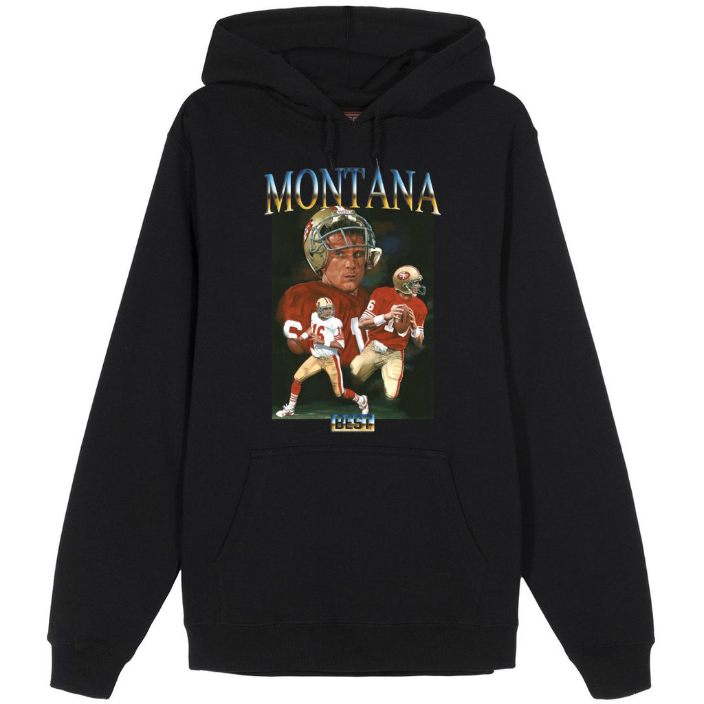 MONTANA THE BEST HOODIE BLACK