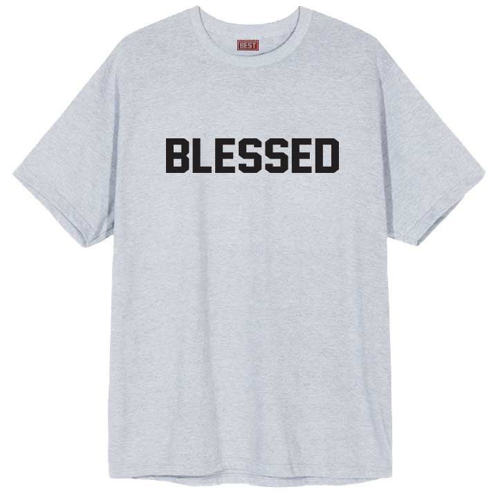 Blessed 2.0 Gray Tee