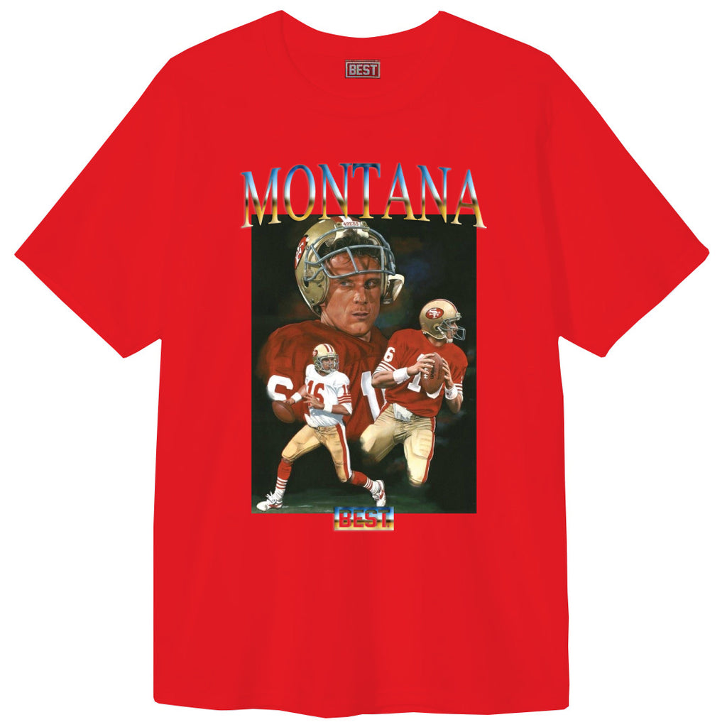MONTANA THE BEST TEE RED
