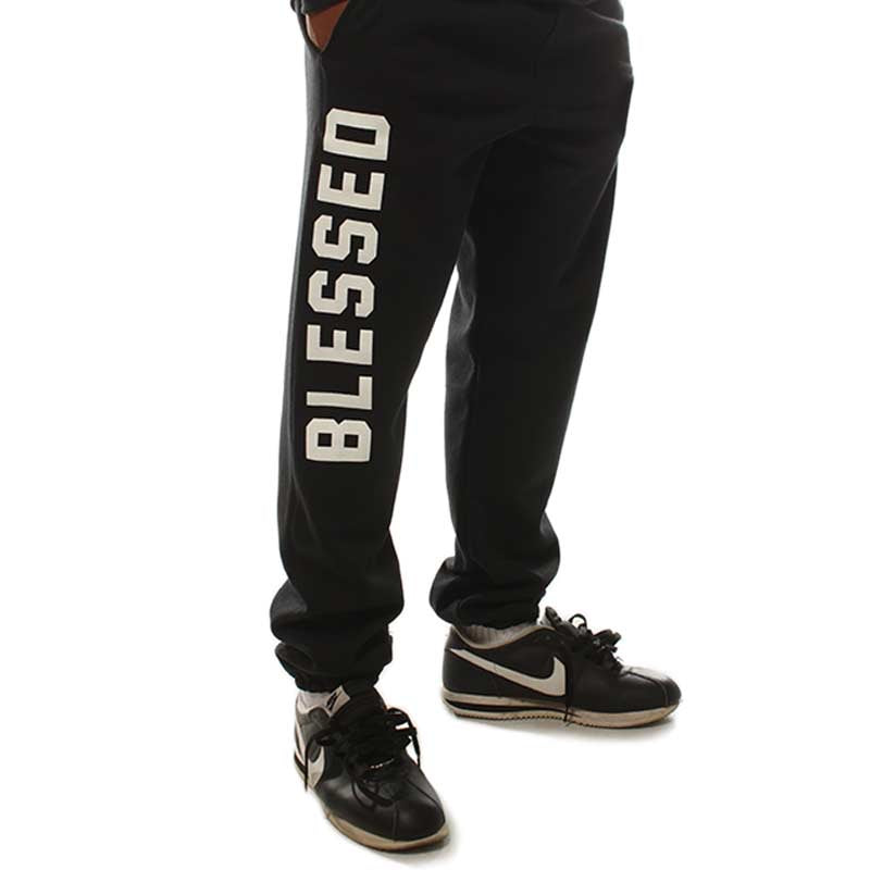 Blessed Black Joggers
