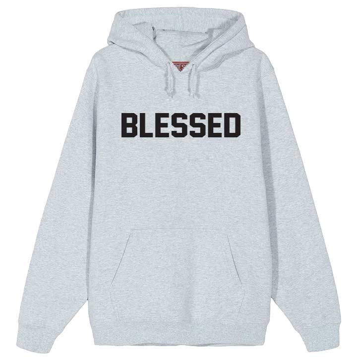 Blessed 2.0 Gray Hoodie