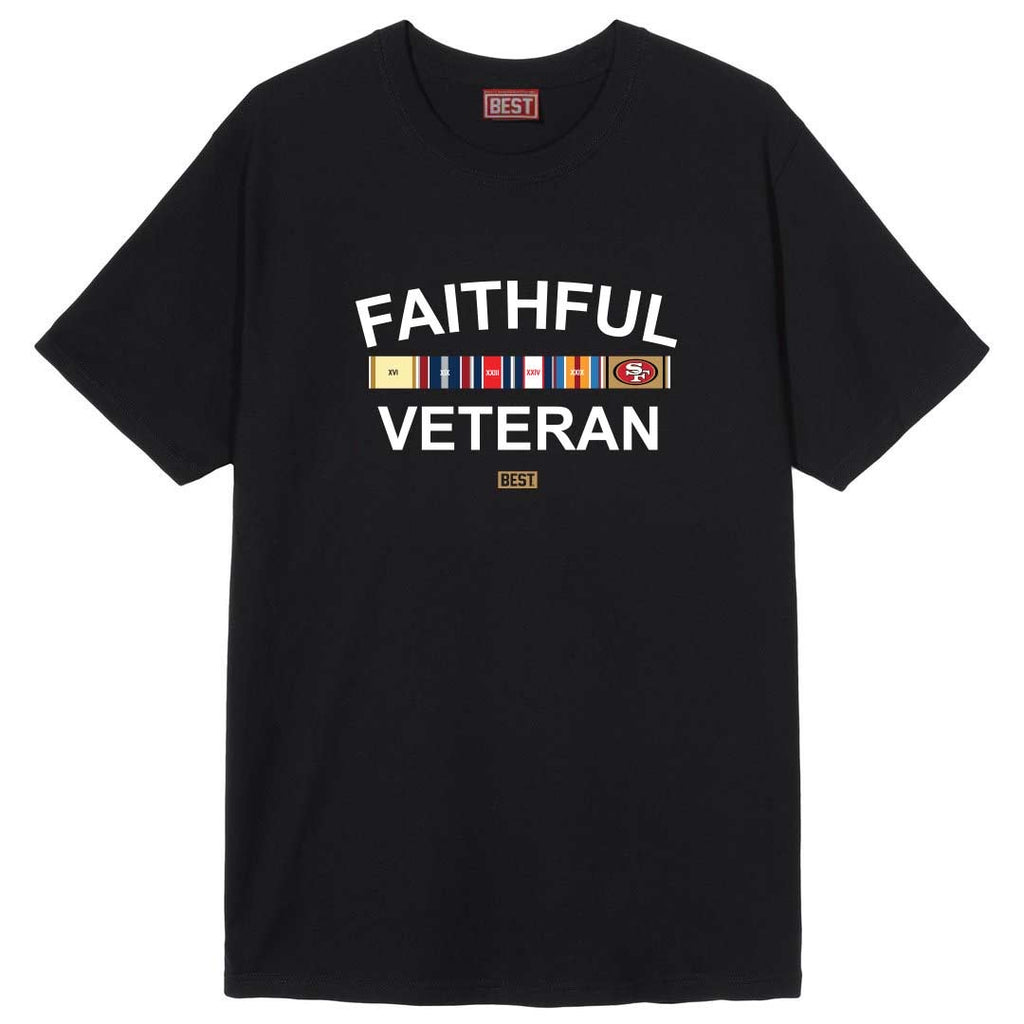FAITHFUL VETERAN TEE BLACK