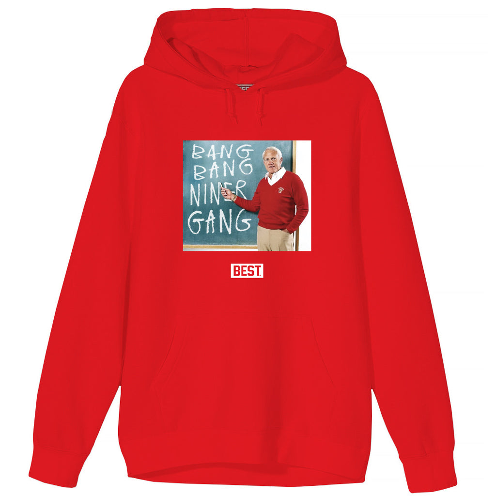 BANG BANG BILL HOODIE RED