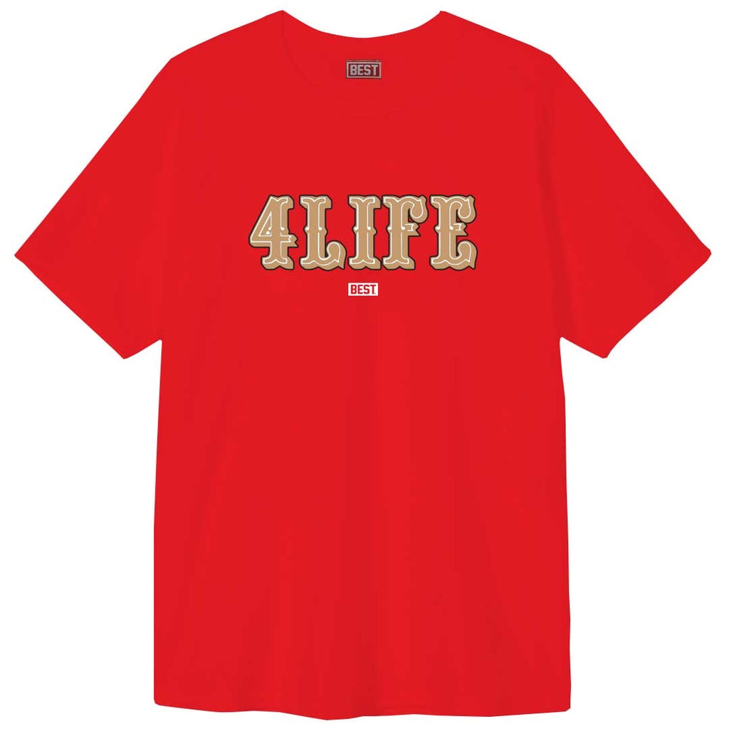 NINER 4 LIFE TEE RED