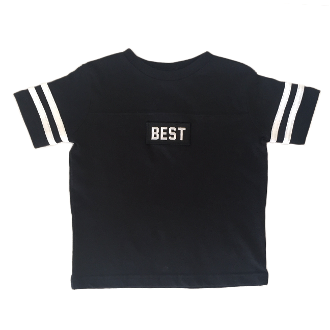 Kids Black Best Tee