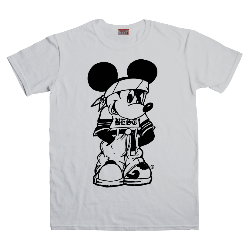 Miklo Mouse Grey Tee
