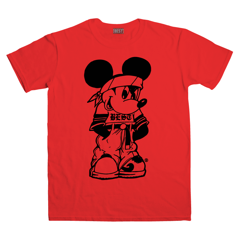 Miklo Mouse Red Tee
