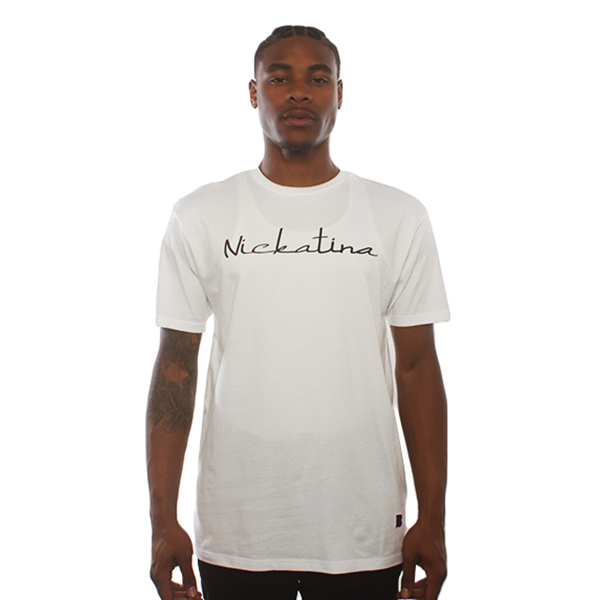 Nickatina White Tee
