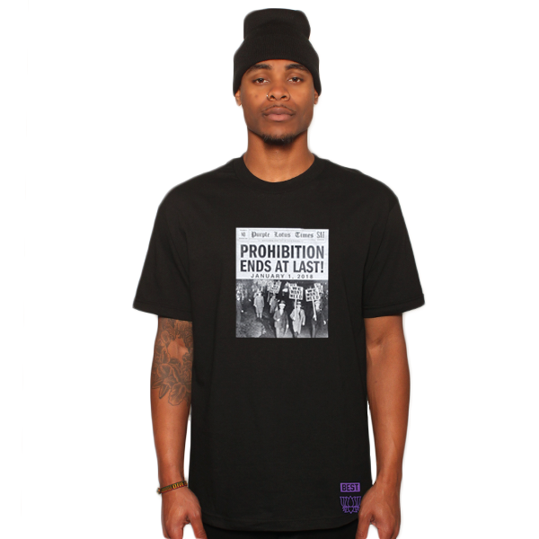 End of Prohibition Black Tee