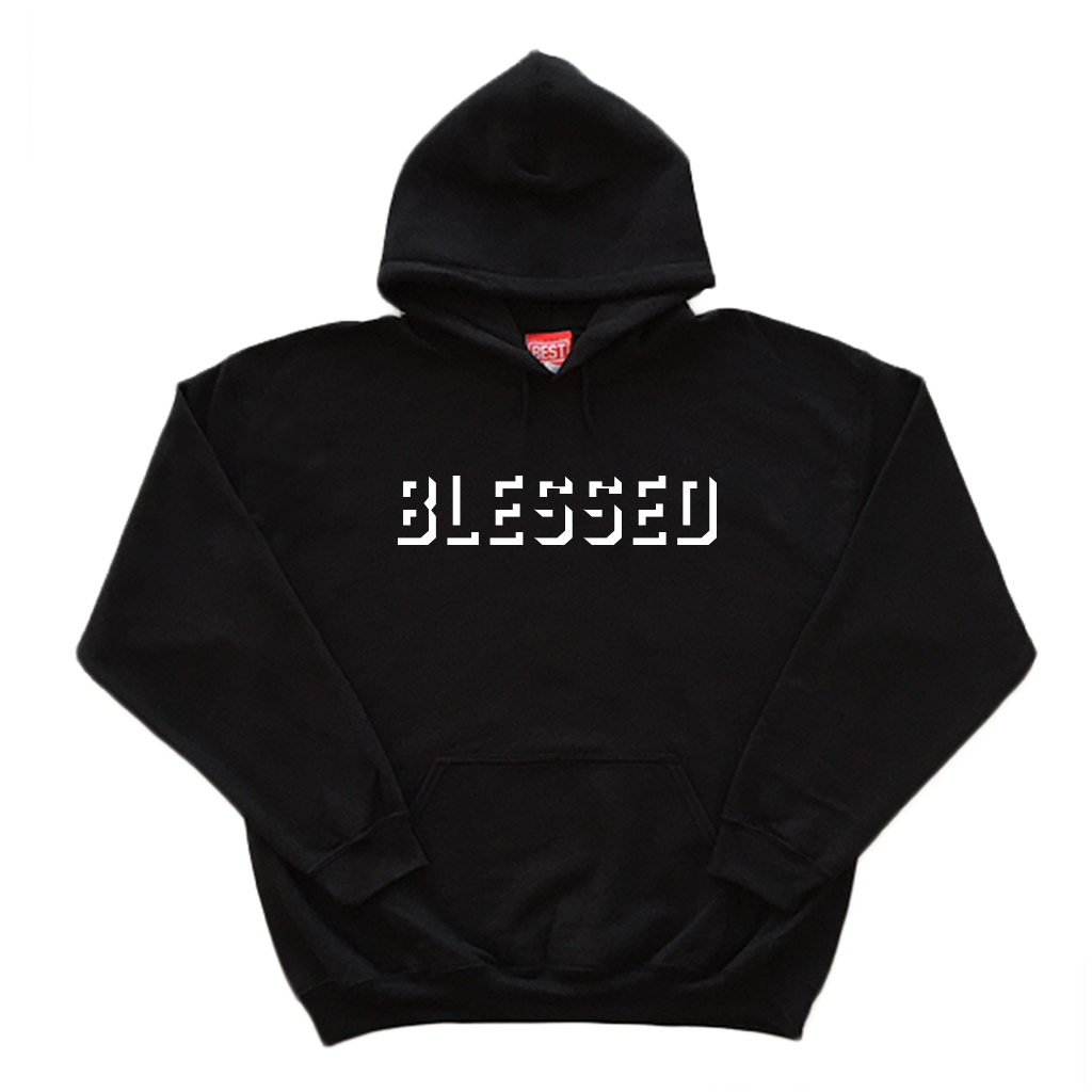 Blessed Shadow Black Hoodie