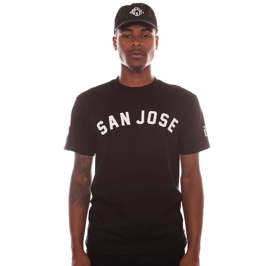 Traxamillion x Breezy: San Jose Black Tee