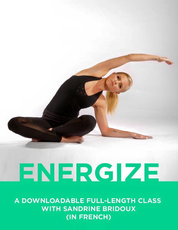 Strala ENERGIZE 1-Hour Class, with Sandrine in French