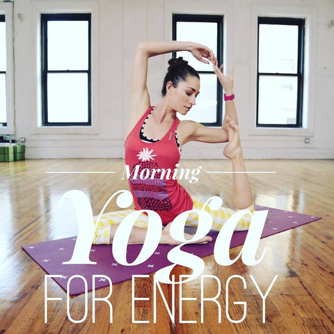 Morning Yoga for Energy : 30 Minutes : January 2016