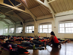 FULL : ENERGIZE Class with Tara Stiles - NYC - 22 April 2017